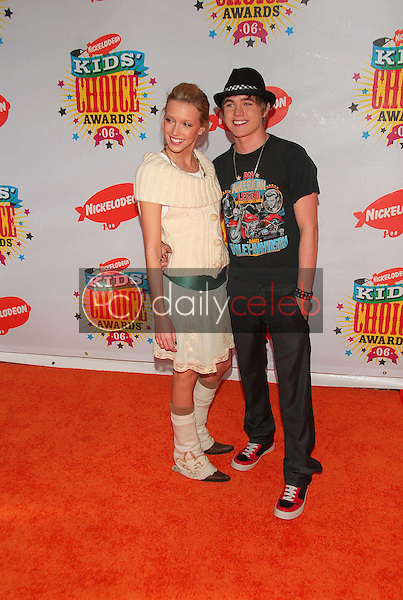Katie Cassidy and Jesse Mccartney<br />