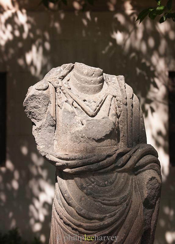 Remains of a Roman statue near Al-Hamidiyah Souq, Damascus, Syria