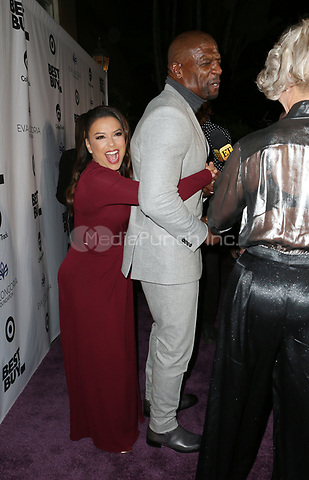 LOS ANGELES, CA - NOVEMBER 8: Eva Longoria, Terry Crews, at the Eva Longoria Foundation Dinner Gala honoring Zoe Saldana and Gina Rodriguez at The Four Seasons Beverly Hills in Los Angeles, California on November 8, 2018. Credit: Faye Sadou/MediaPunch