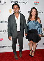 Jon Huertas &amp; Nicole Huertas at the BAFTA Los Angeles BBC America TV Tea Party 2017 at The Beverly Hilton Hotel, Beverly Hills, USA 16 September  2017<br /> Picture: Paul Smith/Featureflash/SilverHub 0208 004 5359 sales@silverhubmedia.com