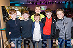 Enjoying the Kerins O'Rahillys Strictly Come Dancing, held at the Brandon Hotel, Tralee on Saturday night last, were l-r: Ben O'Brien, Sean Hill, Ben Hanafin, Mark Brick, T.J. Heaphy and Conor Brick.