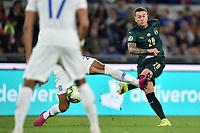Federico Bernardeschi of Italy scores the goal of 2-0 <br /> Roma 12-10-2019 Stadio Olimpico <br /> European Qualifiers Qualifying round Group J <br /> Italy - Greece <br /> Photo Andrea Staccioli/Insidefoto