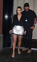 SEP 12 Kim Kardashian West leavimg the Mercer Hotel