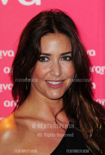 Lisa Snowdon arriving for The Commercial Radio Awards held at the Park Plaza Hotel in London. 06/07/2011. Picture by: Simon Burchell / Featureflash