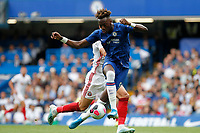 Tammy Abraham of Chelsea controlling the ball during the Premier League match between Chelsea and Sheff United at Stamford Bridge, London, England on 31 August 2019. Photo by Carlton Myrie / PRiME Media Images.