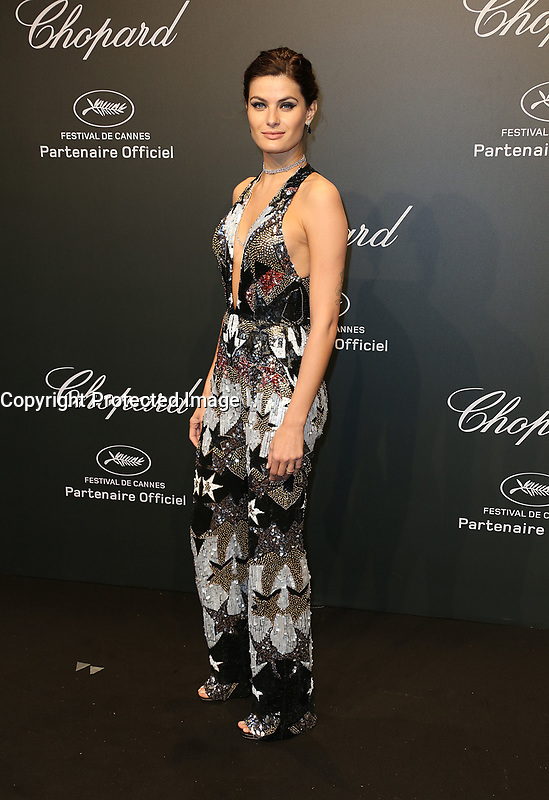 ISABELI FONTANA<br /> Chopard Space Party Photocall The 70th Cannes Film Festival<br /> CANNES FRANCE MAY 19