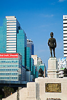Statue in downtown Bangkok, Thailand