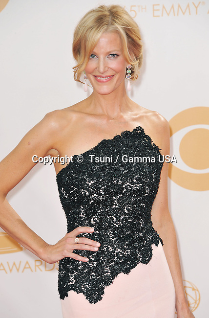 Anna Gunn 353 arriving at the 65th Primetime Emmy Awards at the Nokia Theatre in Los Angeles.