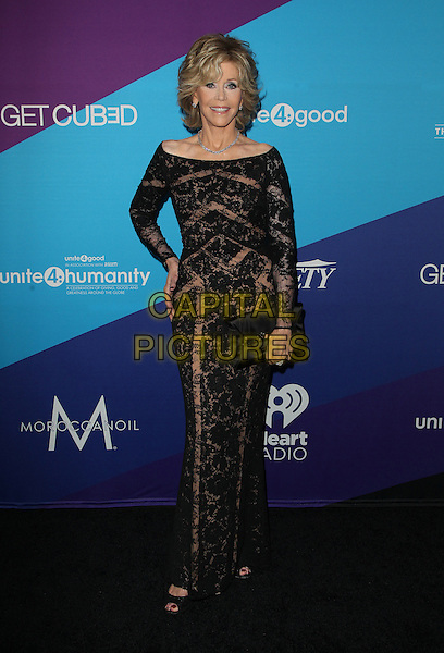Los Angeles, CA - FEBRUARY 27: Jane Fonda Attending Unite4good And Variety Host 1st Annual Unite4:humanity Event, Held at Sony Pictures Studios California on February 27, 2014.  <br /> CAP/MPI/RTNUPA <br /> &copy;RTNUPA/MediaPunch/Capital Pictures