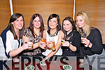 TOASTING: Raising their glasses to mark Women Chritmas at Herberts Bar, Kilflynn on Sunday night, L-r: Naoimh Lawlor, Sharon Larkin, Mary O'Brien, Lorraine Henchy and Stephanie Kane-Stack. (kilflynn).