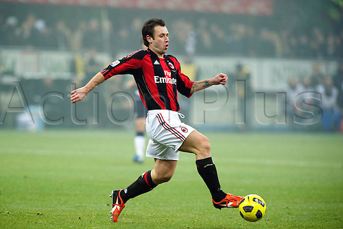 01.02.2011 Antonio Cassano (Milan),  Football : Italian Serie A 2010-2011, match between  A.C. Milan (0-0) S.S. Lazio at San Siro Meazza Stadium, Milan, Italy,