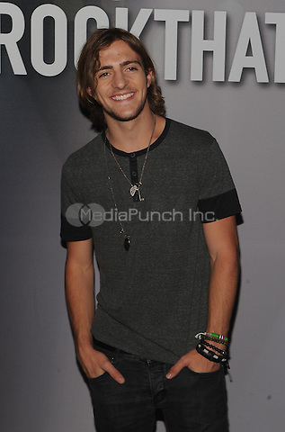 New York,NY-June 9: Rocky Lynch attend the Pop/Rock Sensation R5 and Ring Pop Premiere #RockThatRock Music Video at Gramercy Theatre in New York City on June 9, 2014. Credit: John Palmer/MediaPunch