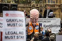 "07.03.2014 - ""Grayling Day"" - Save Legal Aid Demo"