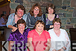 Helen Burke, Glenbeigh, pictured with Noreen Griffin, Ann Moriarty, Noreen Cahillane, Mary Counihan and Annemarie Riordan, as she celebrated her 40th birthday in Beaufiort Bar on Saturday night.....