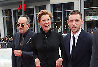 HOLLYWOOD, CA - NOVEMBER 12: Elvis Costello, Annette Bening, Jamie Bell, at the Film Stars Won't Die In Liverpool Special Screening AFI Fest 2017 at the TCL Chinese Theatre in Hollywood, California on November 12, 2017. Credit: Faye Sadou/MediaPunch /NortePhoto.com