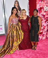 LOS ANGELES, CA. February 11, 2019: Priyanka Chopra , Rebel Wilson &amp; Ester Dean at the premiere of &quot;Isn't It Romantic&quot; at The Theatre at Ace Hotel.<br /> Picture: Paul Smith/Featureflash