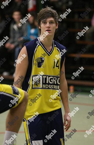 2010-01-17 / Basketbal / seizoen 2009-2010 / Antwerp Giants 2 - BBC Geel / M. Van Eynde..Foto: mpics