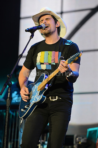 WEST PALM BEACH - SEPTEMBER 29:  Brad Paisley performs at the Cruzan Amphitheatre on September 29, 2012 in West Palm Beach, Florida.©Êmpi04/MediaPunch Inc.