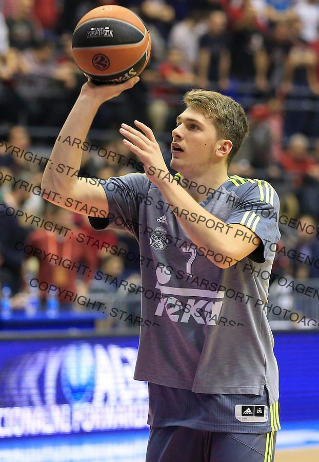Kosarka Euroleague season 2015-2016<br /> Euroleague <br /> Crvena Zvezda v Real Madrid<br /> Luka Doncic<br /> Beograd, 27.11.2015.<br /> foto: Srdjan Stevanovic/Starsportphoto &copy;