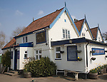 The Ferry House pub, Surlingham, Norfolk, England