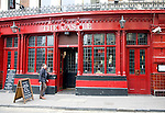 The Castle pub, Cowcross Street, Farringdon, London, England