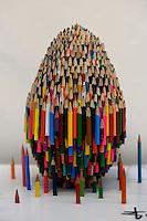 L'Arte nell'Uovo di Pasqua.The Art of the Egg Easter.