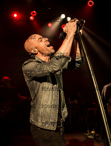DAUGHTRY-vocalist Chris Daughtry performing live at Shepherds Bush Empire in London UK - 26 March 2014.  Photo credit: Iain Reid/IconicPix