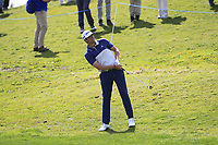 Nacho Elvira (ESP) on the 11th fairway during Round 3 of the Open de Espana 2018 at Centro Nacional de Golf on Saturday 14th April 2018.<br /> Picture:  Thos Caffrey / www.golffile.ie<br /> <br /> All photo usage must carry mandatory copyright credit (&copy; Golffile | Thos Caffrey)