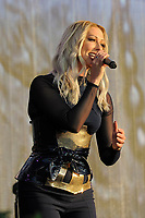 LONDON, ENGLAND - SEPTEMBER 9: Faye Tozer of 'Steps' performing at BBC Proms in The Park, Hyde Park on September 9, 2017 in London, England.<br /> CAP/MAR<br /> &copy;MAR/Capital Pictures