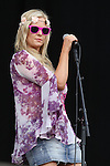 Amanda Brunker Day 2 of the Oxegen Festival, Punchestown, Co.Kildare...(Photo credit should read Jenny Matthews www.newsfile.ie)....This Picture has been sent you under the conditions enclosed by:.Newsfile Ltd..The Studio,.Millmount Abbey,.Drogheda,.Co Meath..Ireland..Tel: +353(0)41-9871240.Fax: +353(0)41-9871260.GSM: +353(0)86-2500958.email: pictures@newsfile.ie.www.newsfile.ie.