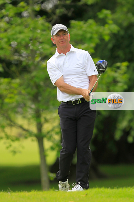 Stephen McNally (Wearside GC) on the 2nd tee during Round 2 of the Titleist &amp; Footjoy PGA Professional Championship at Luttrellstown Castle Golf &amp; Country Club on Wednesday 14th June 2017.<br /> Photo: Golffile / Thos Caffrey.<br /> <br /> All photo usage must carry mandatory copyright credit     (&copy; Golffile | Thos Caffrey)
