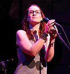 Ingrid Michaelson performs during the grand opening of the new World Café Life at the Queen Theater in Wilmington, De. April 2, 2011..Copyright EML/Rockinexposures.com.