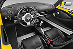High angle dashboard view of a 2009 Lotus Elise SC 2 Door Convertible