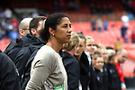 WASHINGTON, DC - MARCH 07: Germany head coach Steffi Jones (GER). The England Women's National Team played the Germany Women's National Team as part of the SheBelieves Cup on March 7, 2017, at RFK Stadium in Washington, DC. Germany won the game 1-0.