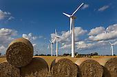 Wind Turbines Winterton Norfok UK