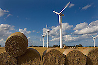Wind Turbines Winterton Norfok UK
