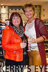 Olivia Wall and Margaret  Brick, attending the beauty evening at Ch Chemist, Tralee on Friday.