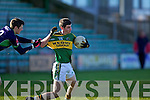 Paul Geaney Kerry v Conor Talty Limerick Institute Technology in the Quarter Final of the McGrath Cup at Austin Stack Park, Tralee on Sunday 16th January.