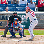 30 April 2017: Washington Nationals outfielder Jayson Werth at bat to lead off the 4th inning against the New York Mets at Nationals Park in Washington, DC. The Nationals defeated the Mets 23-5, with the Nationals setting several individual and team records, in the third game of their weekend series. Mandatory Credit: Ed Wolfstein Photo *** RAW (NEF) Image File Available ***