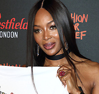Naomi Campbell Fashion For Relief Pop-Up, Westfield London on November 26th 2019<br /> <br /> Photo by Keith Mayhew