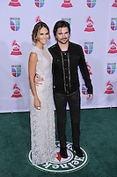 Karen Martinez, Juanes  Arrives at XIII Latin Grammy Awards at Mandalay Bay Resort & Casino in Las Vegas, Nevada on November 15, 2012.Copyright Felix Gonzalez / iPhotoLive.com /NortePhoto