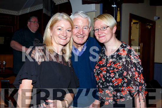 Margaret O'Mahoney, Tom Roche and Mary Toomey at the Ballymac Strictly Love dancing in the Ballygarry House Hotel on Saturday.