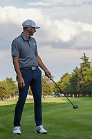 Dustin Johnson (USA) barely misses his birdie putt on 18 during round 4 of the World Golf Championships, Mexico, Club De Golf Chapultepec, Mexico City, Mexico. 2/24/2019.<br /> Picture: Golffile | Ken Murray<br /> <br /> <br /> All photo usage must carry mandatory copyright credit (© Golffile | Ken Murray)