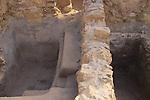 Israel, Judean desert, a ritual bath (Mikveh) in Masada