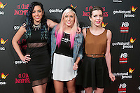 Sweet California attend the Premiere of the movie &quot;El club de los incomprendidos&quot; at callao Cinema in Madrid, Spain. December 1, 2014. (ALTERPHOTOS/Carlos Dafonte) /NortePhoto<br />