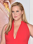 WESTWOOD, CA - APRIL 17: Amy Schumer arrives at the Premiere Of STX Films' 'I Feel Pretty' at Westwood Village Theatre on April 17, 2018 in Westwood, California.