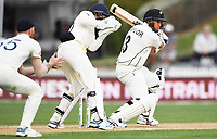 2nd December, Hamilton, New Zealand; Ross Taylor batting on day 4 of the 2nd test cricket match between New Zealand and England  at Seddon Park, Hamilton, New Zealand.