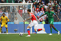 Fedor Smolov (Russland, Russia) greift an - 14.06.2018: Russland vs. Saudi Arabien, Eröffnungsspiel der WM2018, Luzhniki Stadium Moskau