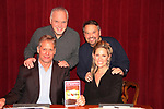 As The World Turns' Scott Bryce and wife Jodi Stevens performed Love Letters by A.R. Gurney on February 10, 2018 at the Music Theatre of Connecticut, Norwalk, Connecticut. Here they pose with Kevin Connors (director. executive artistic director & Cofounder (L) and Jim Schilling (stage manager) who was a Blue Ribbon Panelist for the Daytime Emmy Awards (Photo by Sue Coflin/Max Photo)