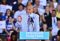 CORAL SPRINGS, FL - SEPTEMBER 30: United States Congressman Alcee Hastings speaks before the arrival of Democratic presidential candidate Hillary Clinton campaign rally at Coral Springs Gymnasium on September 30, 2016 in Coral Springs, Florida. Clinton continues to campaign against her Republican opponent Donald Trump before election day on November 8th. Credit: MPI10 / MediaPunch